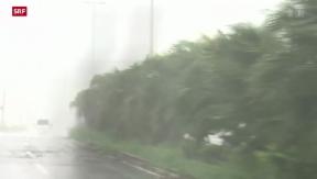 Video «Taifun Noguri wütet in Japan» abspielen