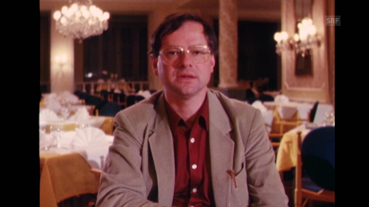 Hermann Burger über «Die künstliche Mutter»