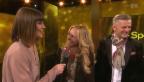 Video «Neues Gastgeber-Paar: Nicole Berchtold und Rainer Maria Salzgeber» abspielen