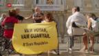 Video «Katalonien: Ein Jahr nach Unabhängigkeits-Referendum» abspielen