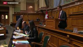 Video «Nationalrat lehnt Erbschafts-Steuerabkommen mit Frankreich ab» abspielen