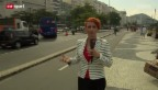 Video «Fussball: Steffi Buchli sucht das WM-Fieber in Rio» abspielen