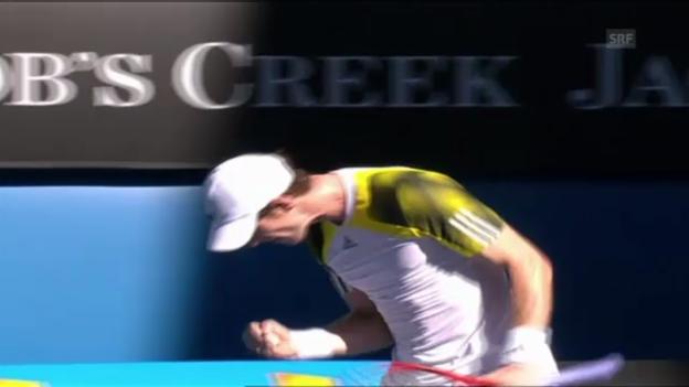 Video «Matchball Murray-Berankis (unkommentiert)» abspielen