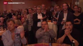 Video «Die strahlende Siegerin SVP» abspielen