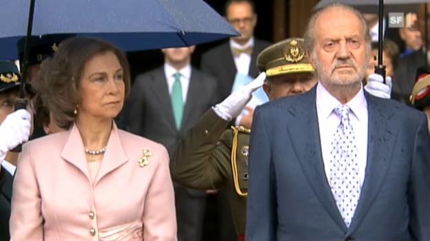 Video «Spanische Königsfamilie: Ein Jahr mit Negativ-Schlagzeilen» abspielen