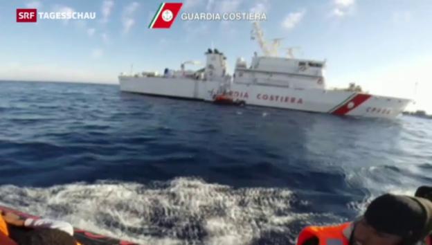 Video «Neue Flüchtlingstragödie im Mittelmeer» abspielen