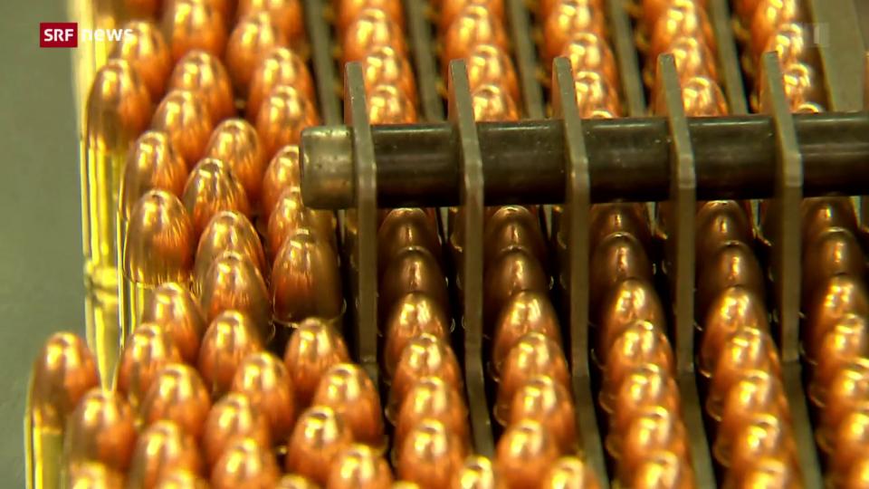 Die Munitionsfabrik Ruag Ammotec darf verkauft werden