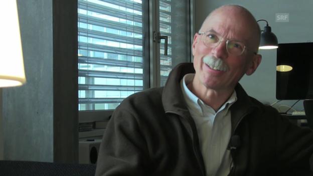 Video «Peter Egloff fand das Tuntschi 1978: «Ein unangenehmes Objekt»» abspielen