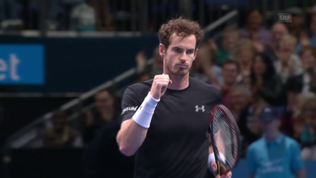 Video «Tennis: ATP Finals, Zusammenfassung Murray - Ferrer» abspielen
