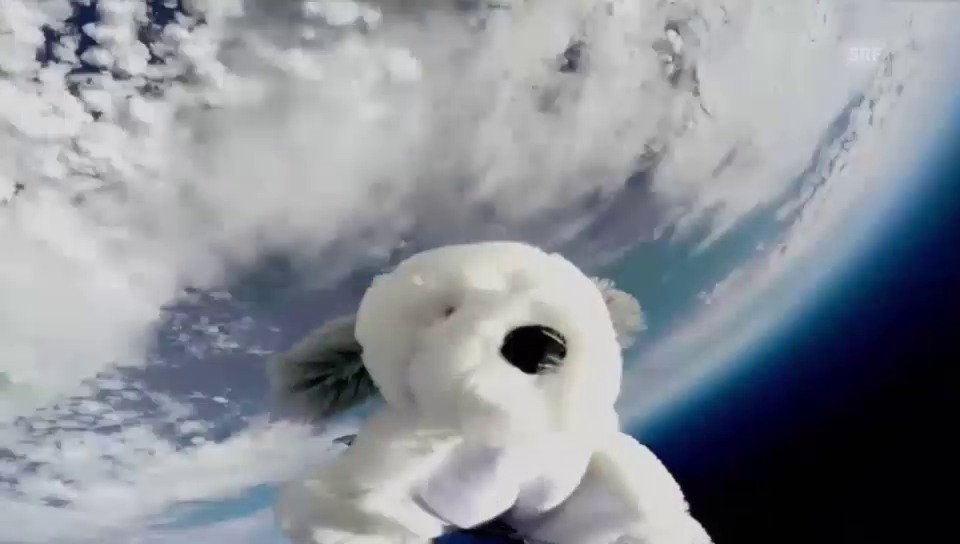 Sam im Weltall