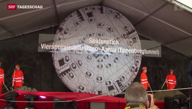 Video «Ausbau des Eisenbahn-Nadelöhrs zwischen Aarau und Olten» abspielen