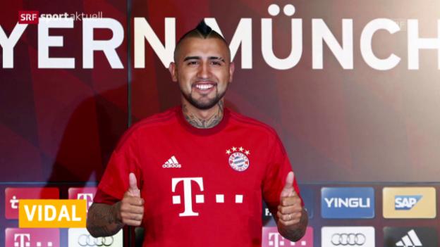 Video «Vidal in München vorgestellt» abspielen