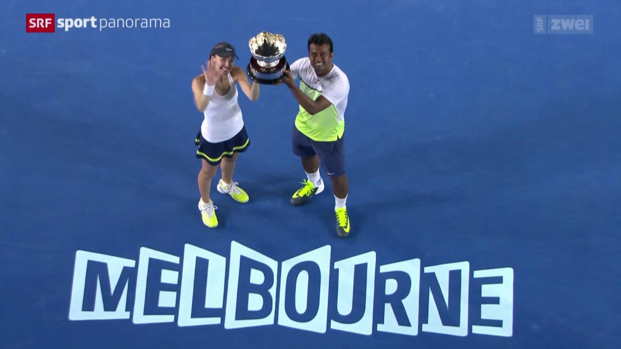 Tennis, Australian Open: Der Mixed-Final mit Martina Hingis