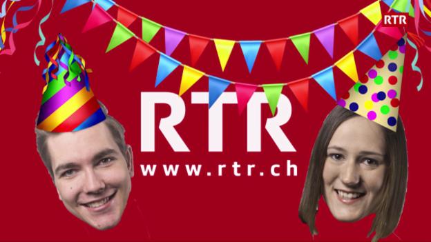Laschar ir video «Silvester al Radio Rumantsch»