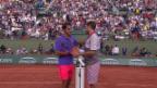 Video «Tennis: French Open, Wawrinka - Federer, Highlights» abspielen