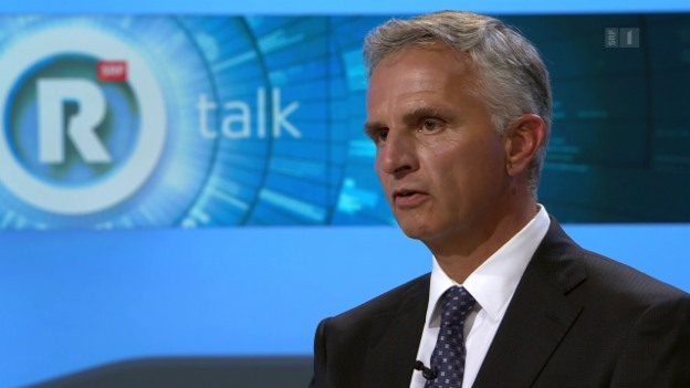 Video «Gäste: Didier Burkhalter, Bundesrat / Gerhard Pfister, Präsident CVP» abspielen