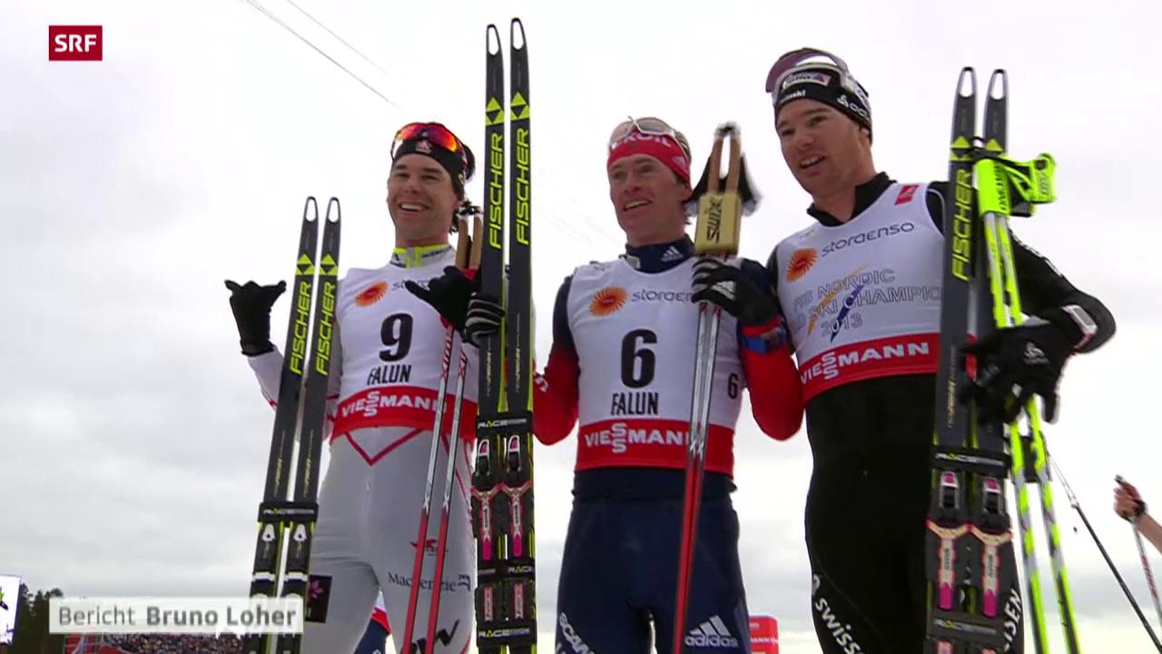 Ski nordisch: Skiathlon der Männer