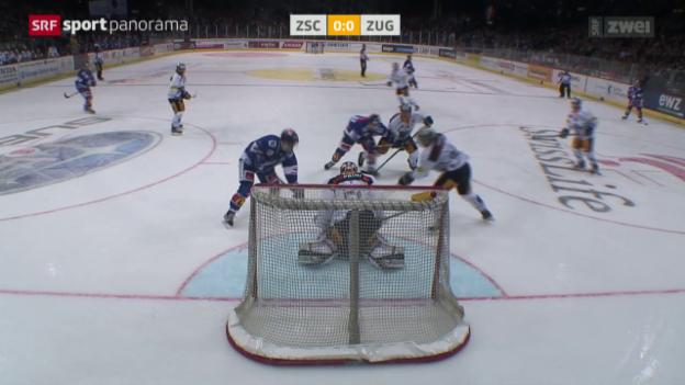 Video «Eishockey: NLA, ZSC - Zug» abspielen