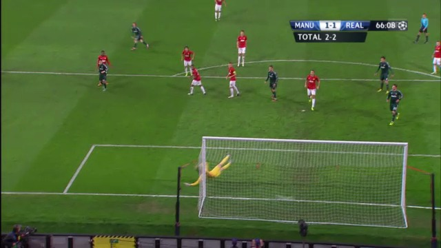 CL: Highlights Manchester United - Real Madrid («sportlive»)