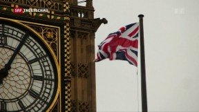 Video «Langer britisch-europäischer Weg zur Trennung» abspielen