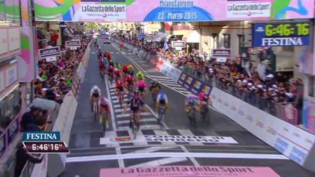Video «Rad: Finale bei Mailand-Sanremo» abspielen