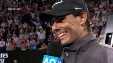 Link öffnet eine Lightbox. Video Nadal: «Ich habe einfach nicht den Körper dazu» (engl.) abspielen