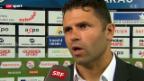 Video «Fussball: Stimmen zu Aarau - YB» abspielen