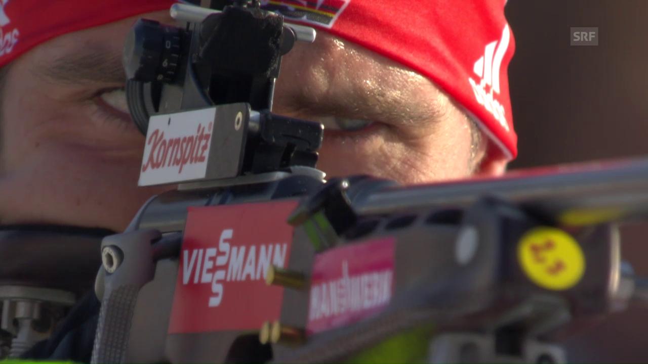 Mixed an der Biathlon-WM: die Zusammenfassung