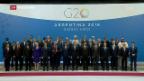 Video «Auftakt G-20-Gipfel in Buenos Aires» abspielen