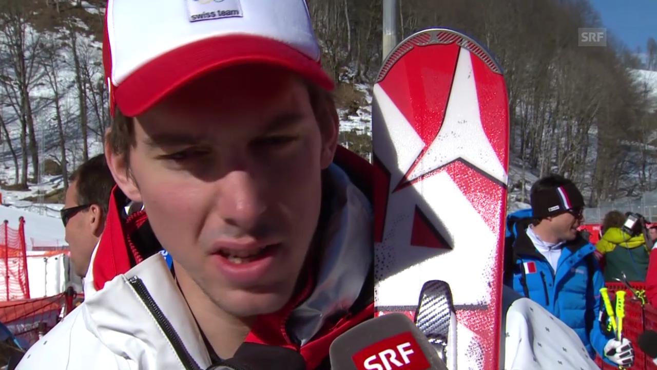 Ski, Männer-Abfahrt, Training, Interview Janka