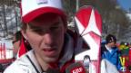 Video «Ski, Männer-Abfahrt, Training, Interview Janka» abspielen