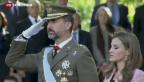 Video «Juan Carlos dankt ab» abspielen
