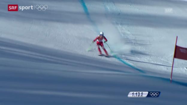 Video «Ski: Abfahrtstraining der Männer («sotschi aktuell», 7.2.2014)» abspielen