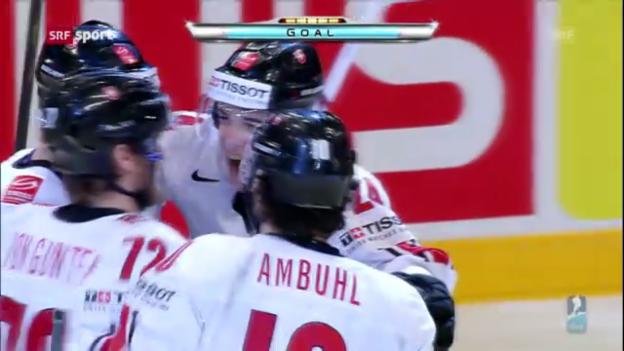 Video «Eishockey-WM: Schweiz - Weissrussland («sportaktuell»)» abspielen