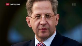 Video «Verfassungsschutz-Chef Maassen wird versetzt» abspielen