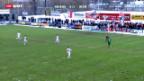 Video «Cup-Achtelfinal Kriens - Sion» abspielen