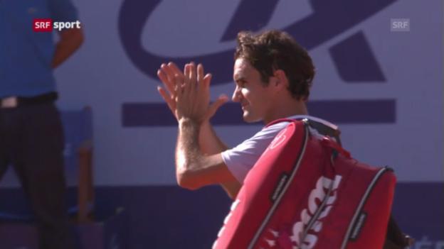 Video «Zusammenfassung Federer - Brands («sportaktuell»)» abspielen