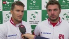 Video «Tennis: Davis Cup, Chiudinelli/Wawrinka im Interview» abspielen