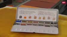 Link öffnet eine Lightbox. Video Aargauer Aquarellfarben abspielen