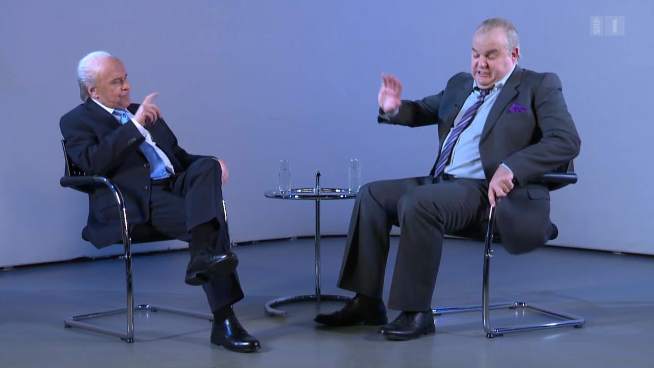 Blatter bei Frank A. Meyer