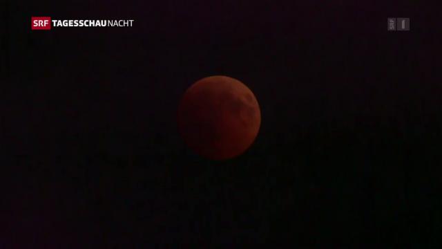 Besonderes Himmelsspektakel Das War Die Jahrhundert Mondfinsternis