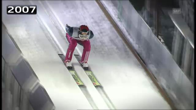 Skispringen: Ammanns letzte WM-Auftritte