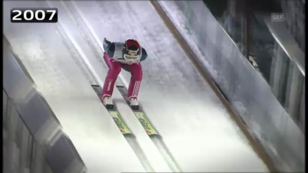 Video «Skispringen: Ammanns letzte WM-Auftritte» abspielen