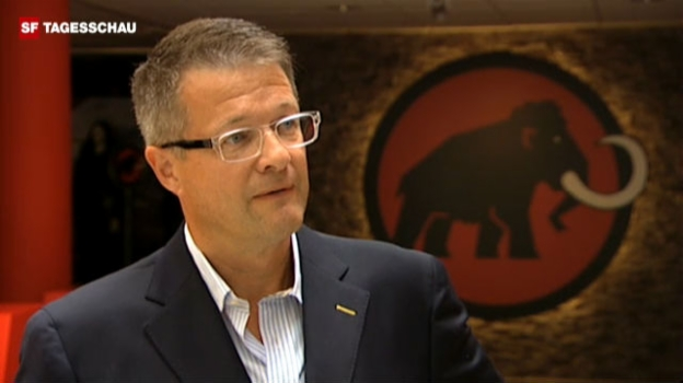 Video ««Dieser Schritt ist uns nicht leicht gefallen», sagt Rolf Schmid, Geschäftsführer Mammut Sports.» abspielen