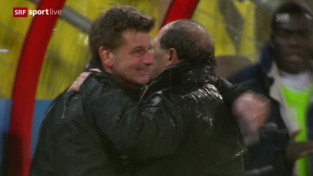 Video «Fussball: Erster Sieg für Ponte («sportlive», 26.2.14)» abspielen