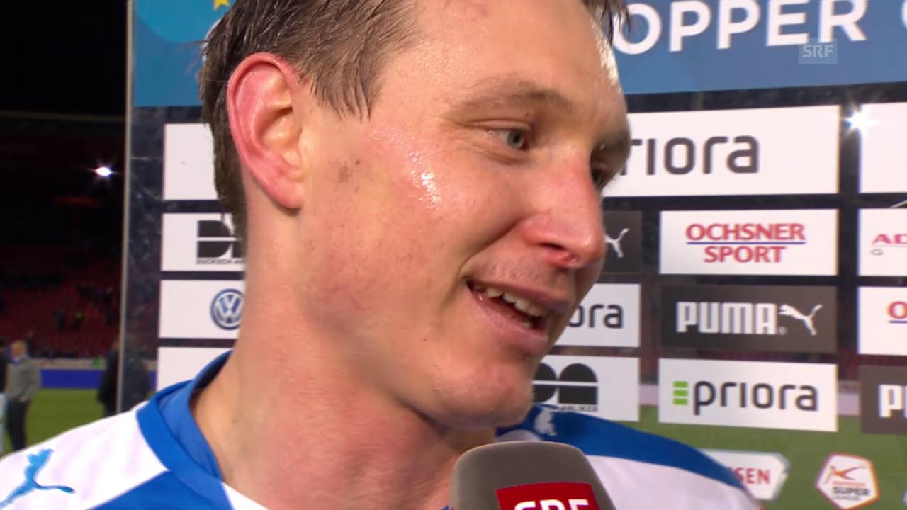 Fussball: Super League, GC - FCZ, Interview Källström