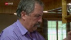 Video «Vergifteter Wolf: Hausdurchsuchung bei Freiburger Grossrat» abspielen