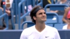 Video «ATP Cincinnati: Federer ohne Probleme im Viertelfinal» abspielen