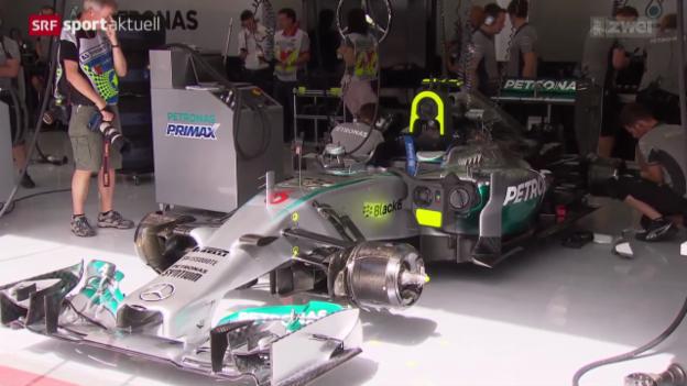 Video «Formel 1: Mercedes auch in Bahrain überlegen» abspielen