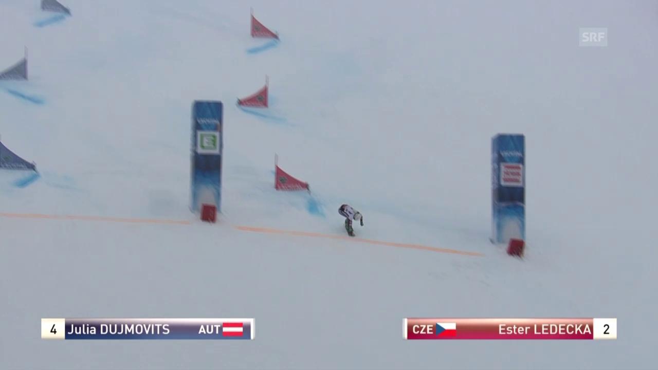 Snowboard: WM Kreischberg, Final Parallel-Slalom Frauen